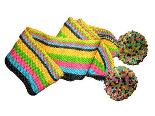 шарф детский полосатый шарфик детский купить
