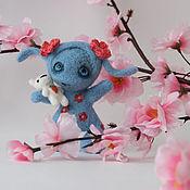 Куклы и игрушки ручной работы. Ярмарка Мастеров - ручная работа Зайка Голубоглазка. Handmade.