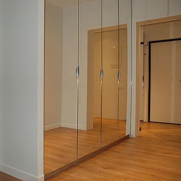 Мебель ручной работы. Ярмарка Мастеров - ручная работа Встроенный зеркальный шкаф на заказ 2. Handmade.