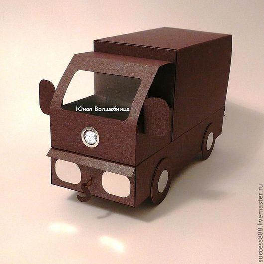 Оригинальная упаковка, оригинальный подарок, коробка-машина, коробка-машинка, коробка для денежного подарка, оригинальная упаковка для денег