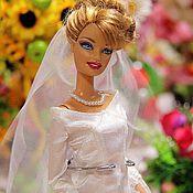 """Куклы и игрушки ручной работы. Ярмарка Мастеров - ручная работа Свадебное платье Беллы из фильма """"Сумерки"""". Handmade."""