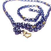 Украшения handmade. Livemaster - original item Necklace made of titanium