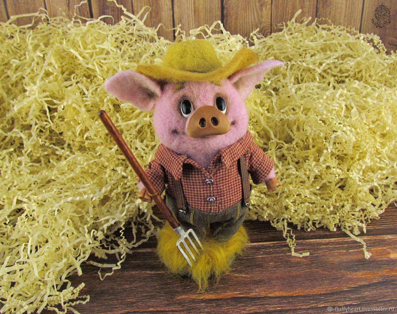 Pig-farmer Jerome, Miniature figurines, St. Petersburg,  Фото №1