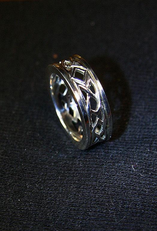 """Кольца ручной работы. Ярмарка Мастеров - ручная работа. Купить кольцо """"Кельтские узоры"""". Handmade. Серебро 925 пробы, серебряный"""