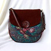 Сумки и аксессуары handmade. Livemaster - original item Bag felted Summer stroll. Handmade.