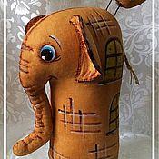 Куклы и игрушки ручной работы. Ярмарка Мастеров - ручная работа Слон Пантелеймон. Handmade.