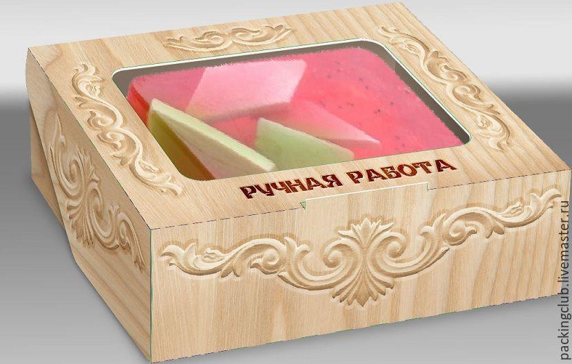 Подарочная коробка с окном, Материалы для творчества, Москва, Фото №1