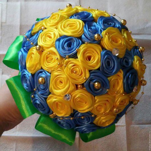 Свадебные цветы ручной работы. Ярмарка Мастеров - ручная работа. Купить Букет-дублер. Handmade. Букет в подарок, букет цветов
