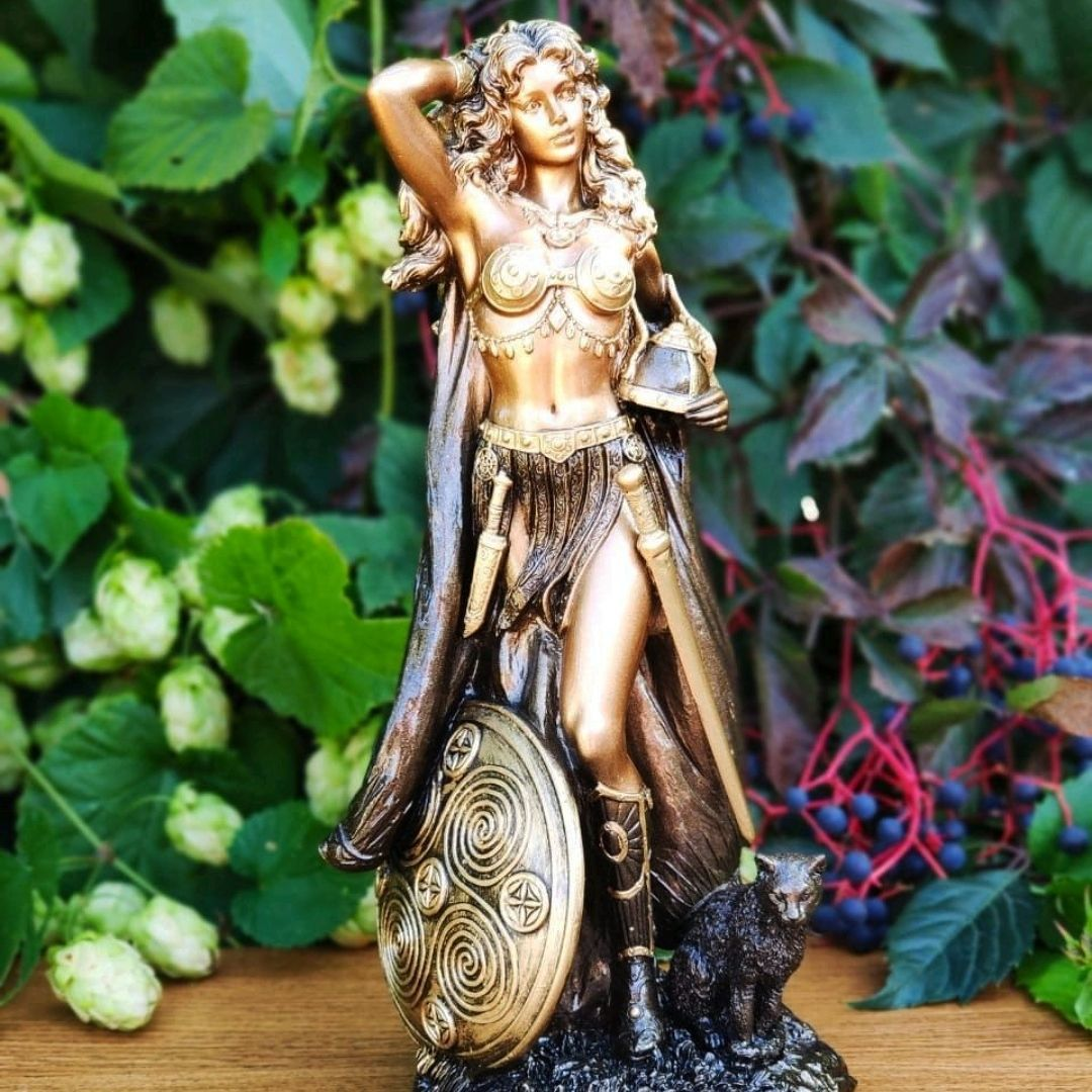 Статуэтка Богиня Фрейя 26 см, Статуэтки, Пятигорск,  Фото №1