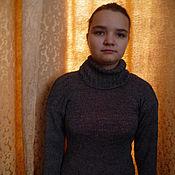 Одежда ручной работы. Ярмарка Мастеров - ручная работа вязаный женский свитер. Handmade.