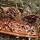 Настольные игры ручной работы. Ярмарка Мастеров - ручная работа. Купить Старинная настольная игра Каллах (Манкала). Handmade. Рыжий