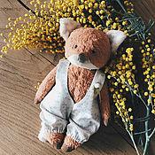 Куклы и игрушки handmade. Livemaster - original item Teddy the crumb Fox. Handmade.