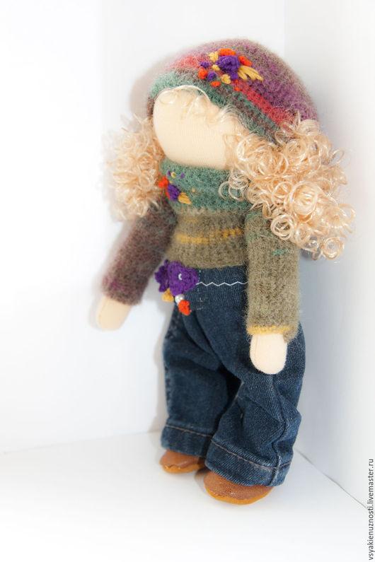 Коллекционные куклы ручной работы. Ярмарка Мастеров - ручная работа. Купить Кукла. Handmade. Комбинированный, кукла, кукла текстильная, хлопок