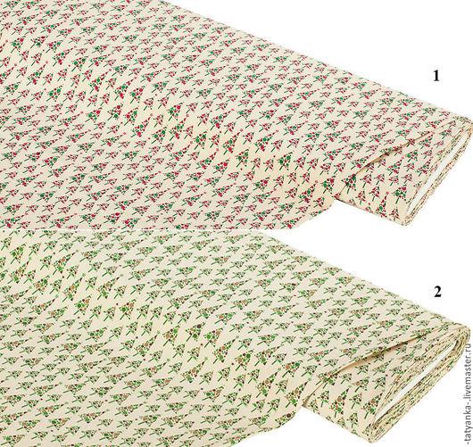 Ткань хлопок `Рождественские ёлки`