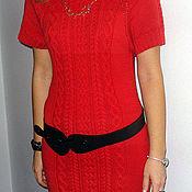 Одежда ручной работы. Ярмарка Мастеров - ручная работа Платье красное. Handmade.