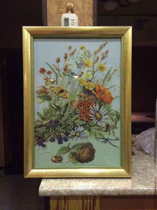 Картины цветов ручной работы. Ярмарка Мастеров - ручная работа. Купить цветы.. Handmade. Комбинированный, картина, картина для интерьера, вышивка