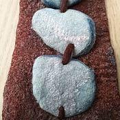 Браслет-манжета ручной работы. Ярмарка Мастеров - ручная работа Браслет-манжета: Браслет с камешками. Handmade.
