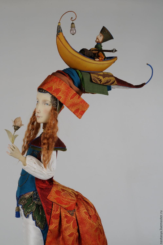 """Коллекционные куклы ручной работы. Ярмарка Мастеров - ручная работа. Купить Авторская кукла """"Жена поэта"""". Handmade. Интерьер"""