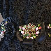 Пояса ручной работы. Ярмарка Мастеров - ручная работа Пояс Барокко  в стиле D& G. Handmade.