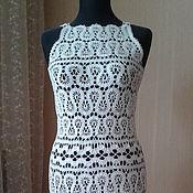 Одежда ручной работы. Ярмарка Мастеров - ручная работа Платье брюггское кружево. Handmade.