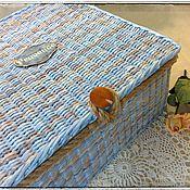 Для дома и интерьера ручной работы. Ярмарка Мастеров - ручная работа Короб подвесной по мотивам Монтерано. Handmade.