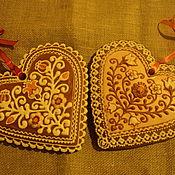 Сувениры и подарки ручной работы. Ярмарка Мастеров - ручная работа Подарок для жениха и невесты. парные пряники. Handmade.