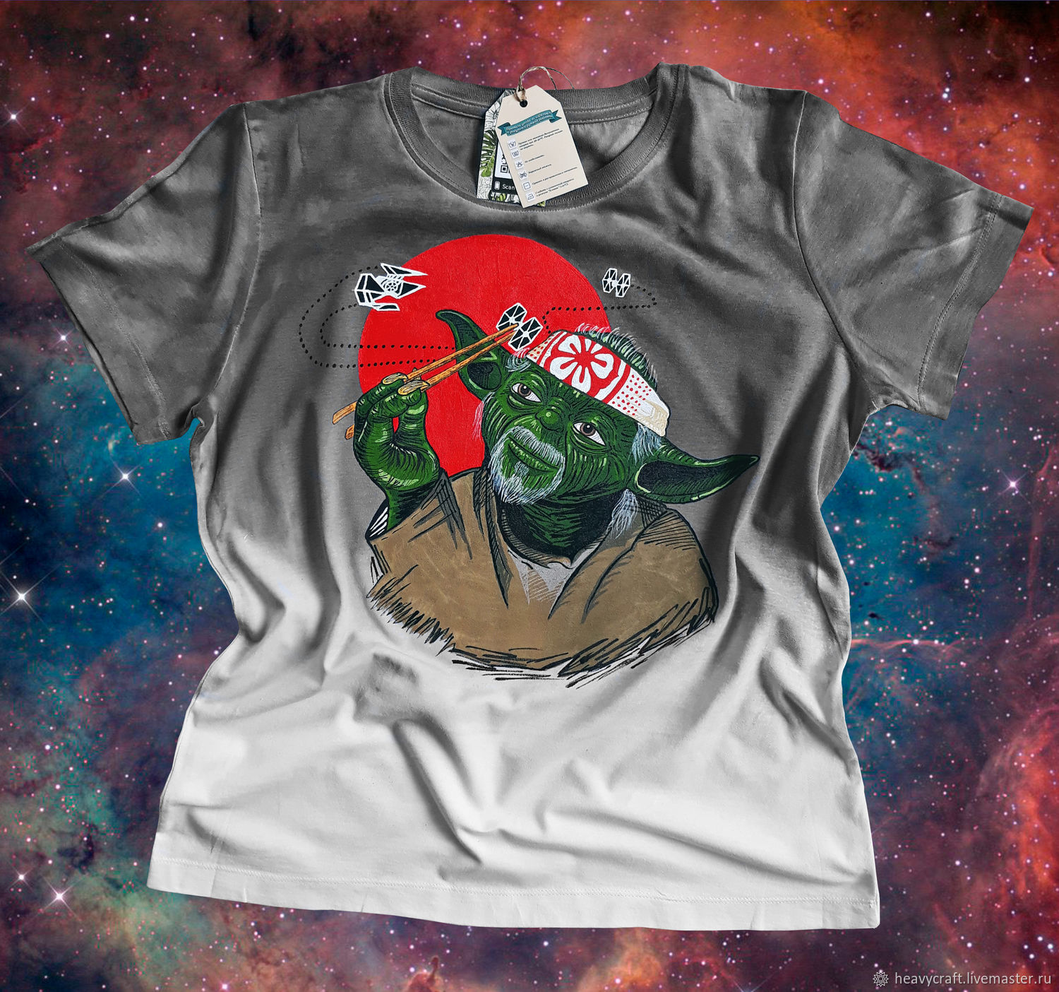 Hand painted t-shirt, T-shirts, St. Petersburg,  Фото №1