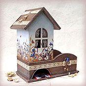 Для дома и интерьера handmade. Livemaster - original item Tea house with candy box