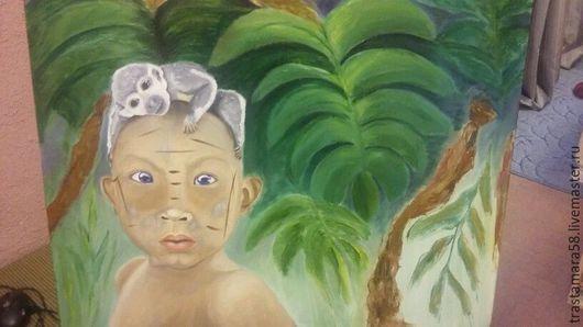 Этно ручной работы. Ярмарка Мастеров - ручная работа. Купить тайский мальчик. Handmade. Тёмно-зелёный, подарок на день рождения