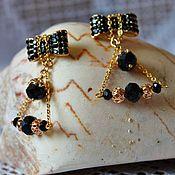 Украшения handmade. Livemaster - original item Earrings gold plated Golden ratio. Handmade.