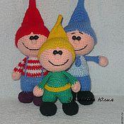Куклы и игрушки ручной работы. Ярмарка Мастеров - ручная работа Веселые гномики. Handmade.
