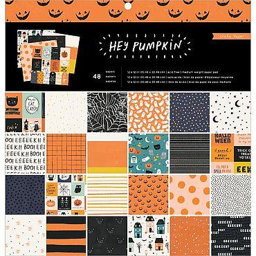 Материалы для творчества ручной работы. Ярмарка Мастеров - ручная работа Элементы коллекции Hey, Pumpkin от Crate Paper. Handmade.