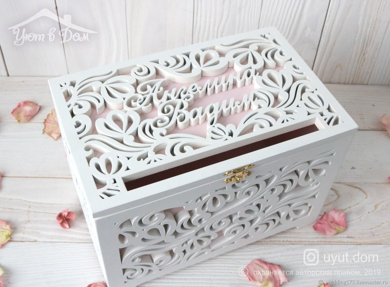 Chest-Treasury wooden wedding 'Tea rose', Chests, Dimitrovgrad,  Фото №1