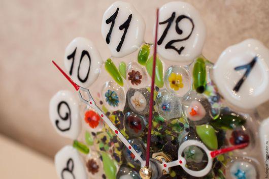 Часы для дома ручной работы. Ярмарка Мастеров - ручная работа. Купить Часы настольные. Handmade. Комбинированный, подарок на любой случай
