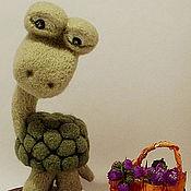 Куклы и игрушки ручной работы. Ярмарка Мастеров - ручная работа черепахин. Handmade.