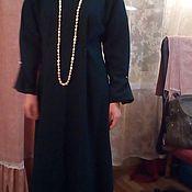 Одежда ручной работы. Ярмарка Мастеров - ручная работа Платье из шерсти/Платье длинное/платье для беременных/платье зеленое. Handmade.