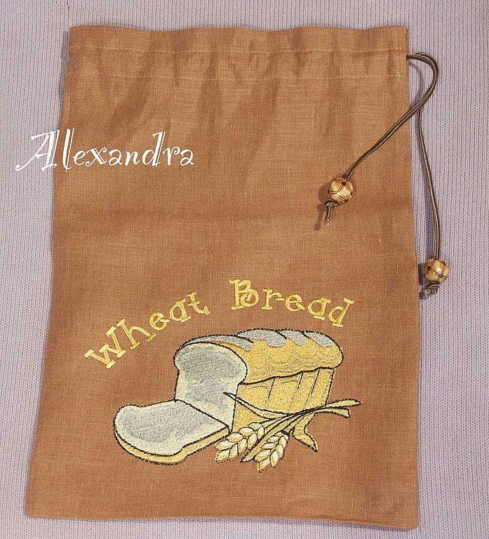 Сшить мешочек для хлеба