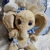 Куклы и игрушки ручной работы. Ярмарка Мастеров - ручная работа слонечка Babe. Handmade.