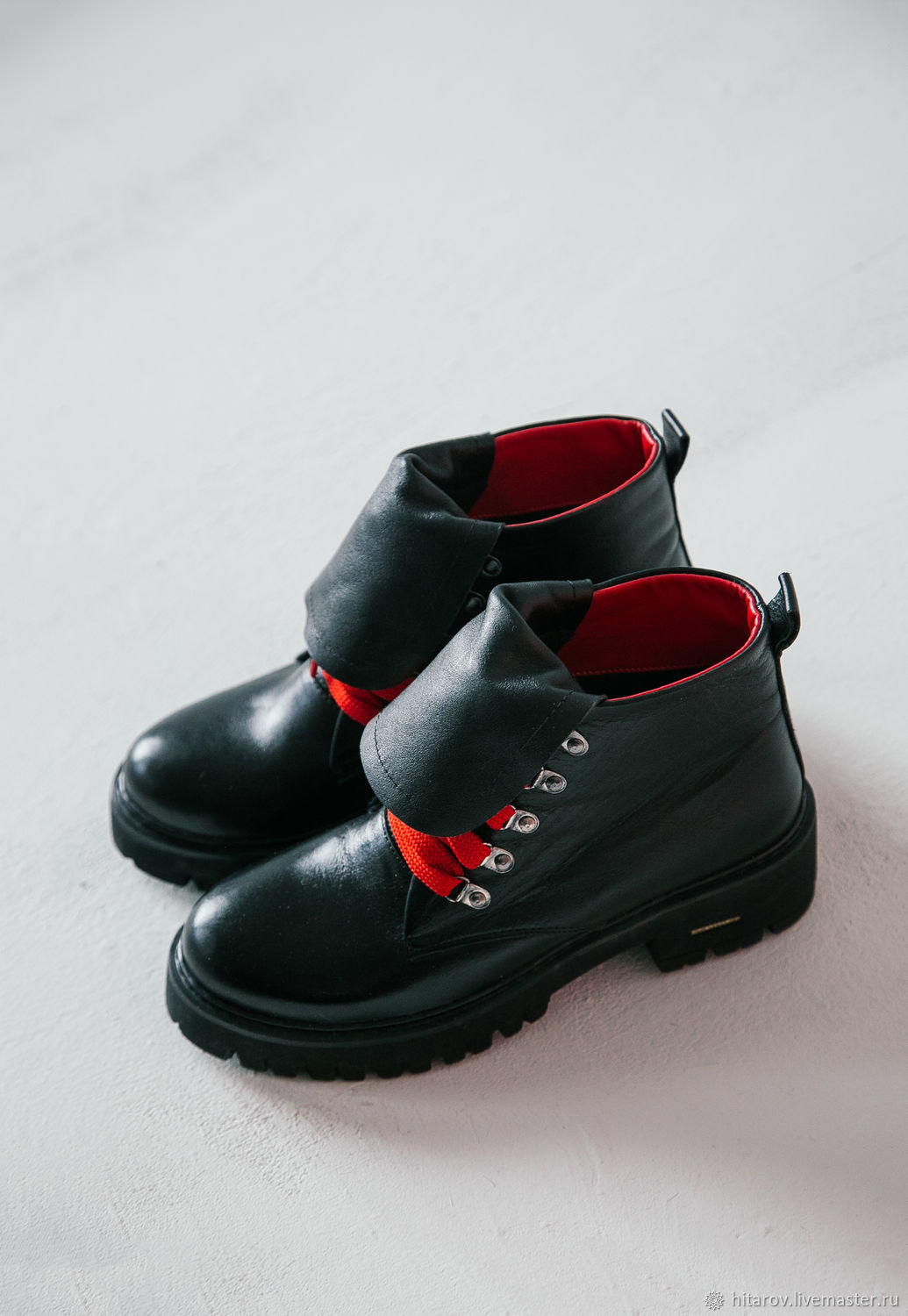 Shoes: Trends ' black and red', Boots, Moscow,  Фото №1