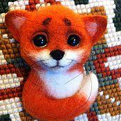Куклы и игрушки ручной работы. Ярмарка Мастеров - ручная работа Лис для Елены. Handmade.