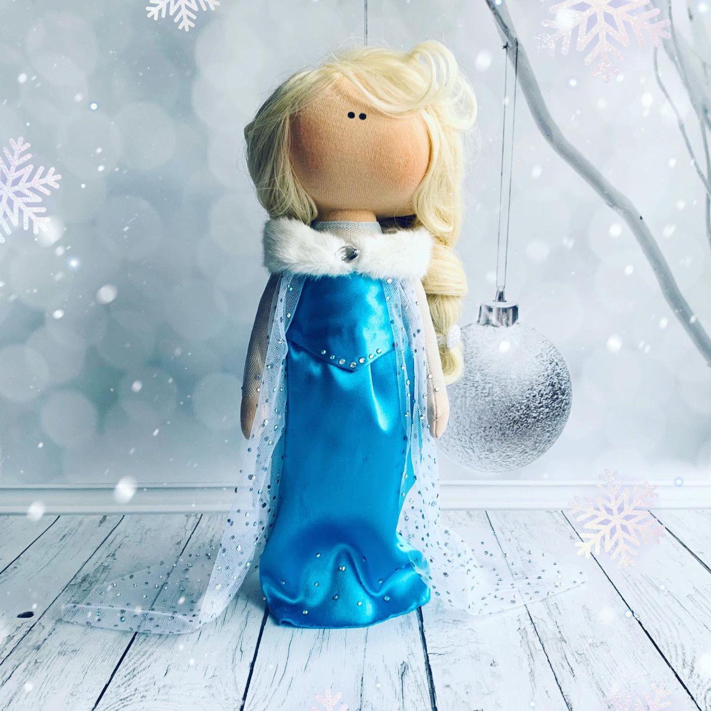 Текстильная кукла. Интерьерная кукла. Рост 30 см, Портретная кукла, Москва,  Фото №1
