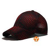 Аксессуары handmade. Livemaster - original item Light baseball cap fullprint Sota Star RED AMG. Handmade.