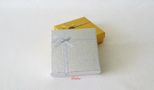 Упаковка ручной работы. Ярмарка Мастеров - ручная работа. Купить Квадратная коробочка 9х9х2,5см Ю14. Handmade. Коробочка