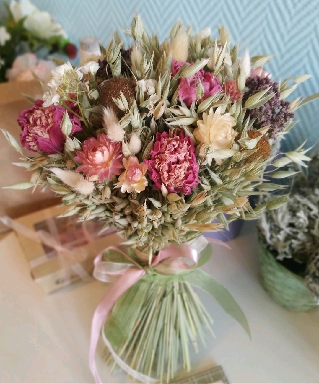 Букет из сухоцветов, Букеты, Самара,  Фото №1