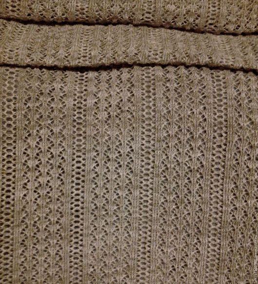 Ткань ажурная из 100% льняной пряжи `Ришелье`  Цена-500 рублей один погонный метр Максимальная ширина ткани 75 см.Длина может быть любая