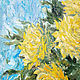 Oil painting Yellow dahlias. Painting. Flowers. Pictures. Pictures for the soul (RozaSavinova). Online shopping on My Livemaster.  Фото №2