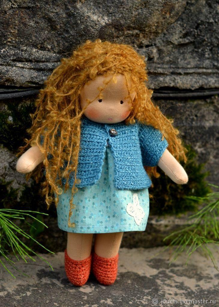 Малышка Капелька, 25см, вальдорфская куколка, Вальдорфские куклы и звери, Псков,  Фото №1