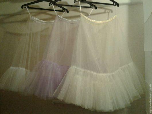 Юбки ручной работы. Ярмарка Мастеров - ручная работа. Купить Нижняя юбка из фатина.. Handmade. Юбка