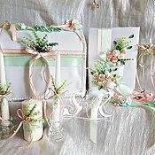 """Свадебный салон ручной работы. Ярмарка Мастеров - ручная работа Свадебный набор """"Вдохновение"""". Handmade."""