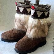 """Обувь ручной работы. Ярмарка Мастеров - ручная работа валенки """"Волчий зуб"""". Handmade."""